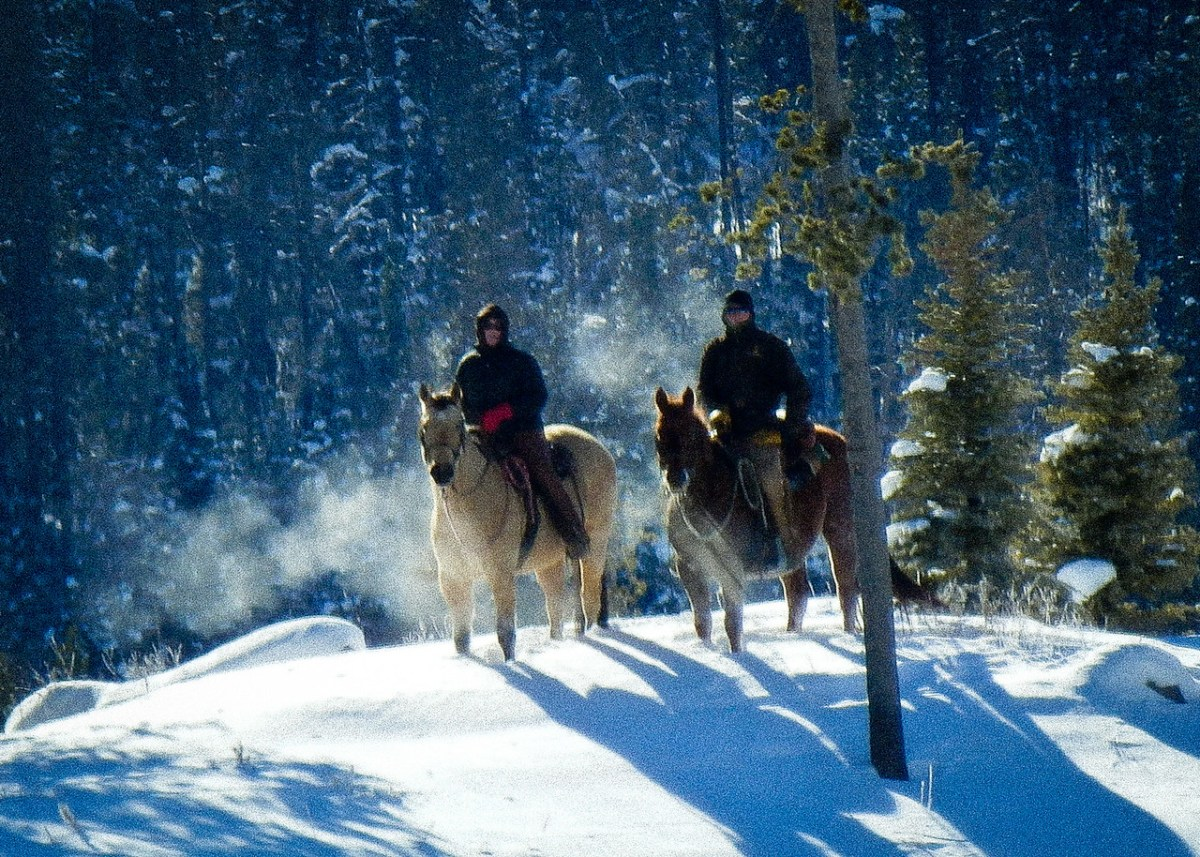 Winter Wonderland Glamping at Colorado's Vista Verde Ranch